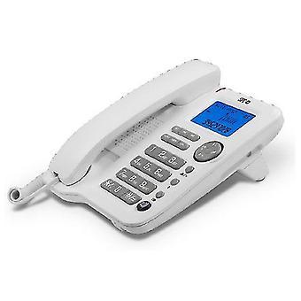 Téléphone câble au sol SPC 3608B LCD Blanc