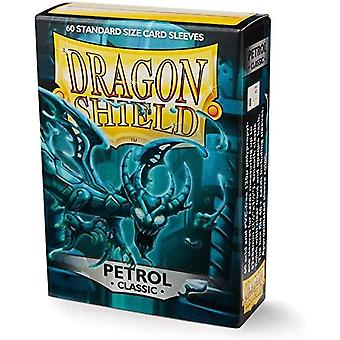 Dragon Shield Sleeves Classic - Petrol 60 Count In Box (Pack OF 10)