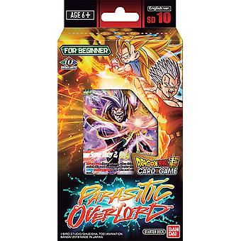 Dragon Ball Super CG Parasitic Overlord Starter Deck SD010 (Pack of 6)