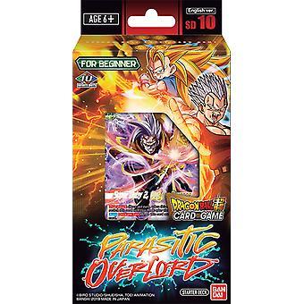 Dragon Ball Super CG parazitare Overlord Starter Deck SD010 (Pachet de 6)