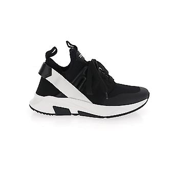 Tom Ford W2818ntof004u9000 Dames's Wit/zwart Nylon Sneakers