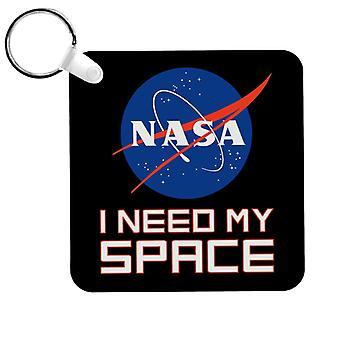 NASA I Need My Space Keyring