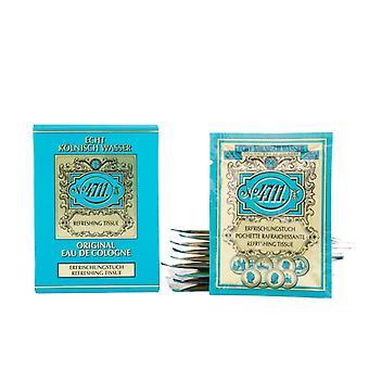 Muelhens 4711 Original Eau de Cologne Tissu rafraîchissant 10 Unités - Unisex