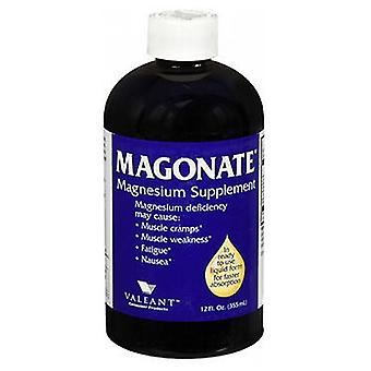 Bausch And Lomb MAGONATE Magnesium Supplement, 12 Oz