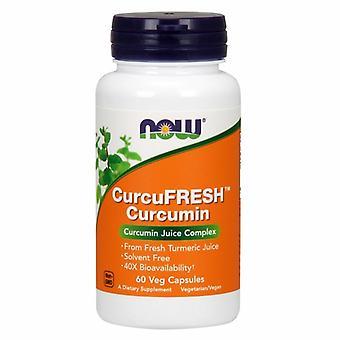 Maintenant Aliments Curcufresh Curcumine, 500 mg, 60 Bonnets de légumes