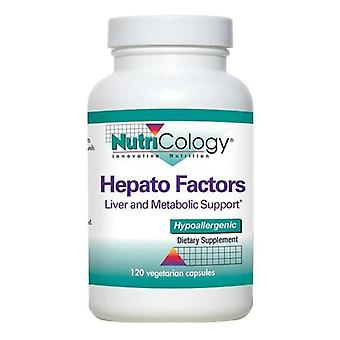 Nutricology Hepato Factors, 120 Veg Caps