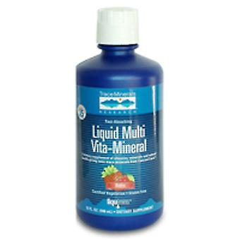 Trace Minerals Liquid Multi Vita-Mineral, Berry 32 oz
