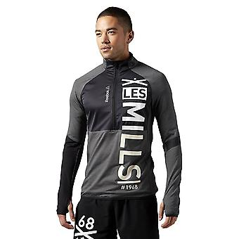 Reebok Les Mills 12 Zip AJ1731 running all year men sweatshirts