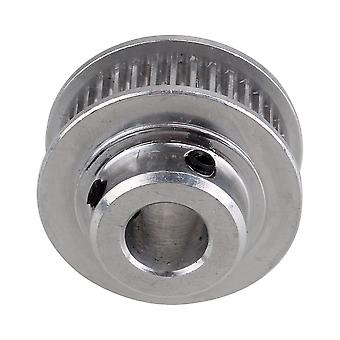 Silber Aluminium 2GT 36T 8mm Bohrung Zahnriemen Riemen für Reprap 3D Drucker Prusa