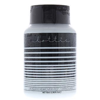 Lottie Lacquer Remover Pot 70ml - Twist Pot Nail Polish Remover