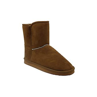 Mia Womens KENNEDI Fabric Closed Toe Ankle Cold Weather Boots