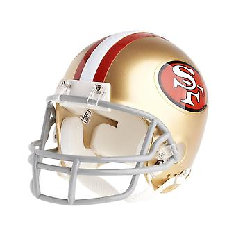Riddell VSR4 Mini Football Helmet - San Francisco 49ers 64-95