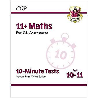 Novos 11 + GL testes de 10 minutos: matemática-idades 10-11 (com edição online)