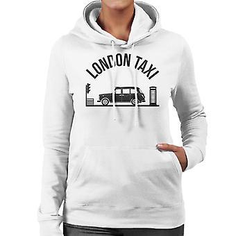 London Taxi Company TX4 Vid trafikljus Women's Hooded Sweatshirt