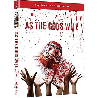 As the Gods Will: Live Action Movie [Blu-ray] USA import