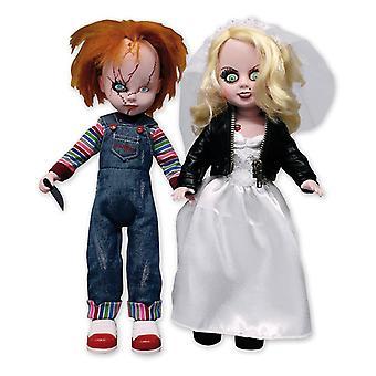 Living Dead Dolls esittelee Chucky & Tiffany -nukkesetin valmistajan: Mezco