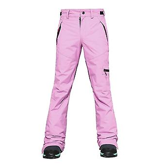 Women's Waterproof Winter Warm Trousers Overalls Thermal Snowboarding Skiing