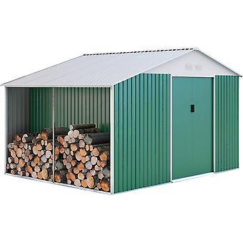 Caseta de metal Rosas 10,85 m2 con leoero