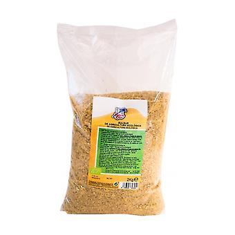 Bulgur (precooked broken wheat) None