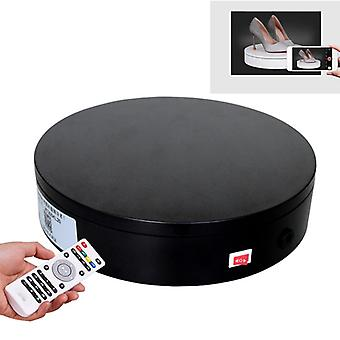 20cm Control Adjusting Speed 360 Degree Electric RotatingTable Display Stand Video Shooting Props Turntable for Photography, Load 20kg, US Plug (