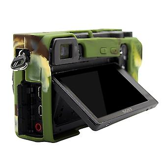 PULUZ Soft Silicone Protective Case for Sony ILCE-6500(Camouflage)