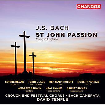 Bach, J.S. / Bevan / Blaze / Hulett / Murray - J.S. Bach: St John Passion [SACD] USA import