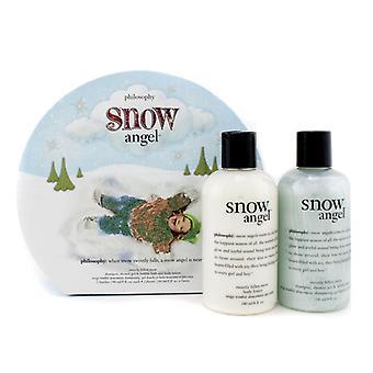 Snow Angel Duo: Shower Gel 240ml + Body Lotion 240ml - 2stk