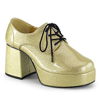 Funtasma Apparel & Accessoires > Costumes & Accessoires > Chaussures costume > Mens JAZZ-02G Pearlized Gold Gltr