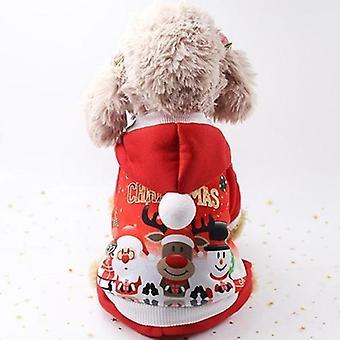 Jouluvaatteet pienille suurille koirille Lemmikkikissa puku