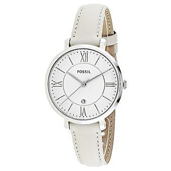 Fossil Women's Jacqueline White Dial Watch - ES3793