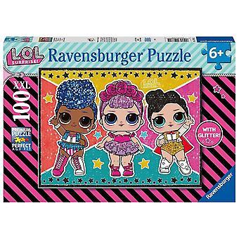 LOL Surprise, Puzzle - Glitter - 100 Pieces