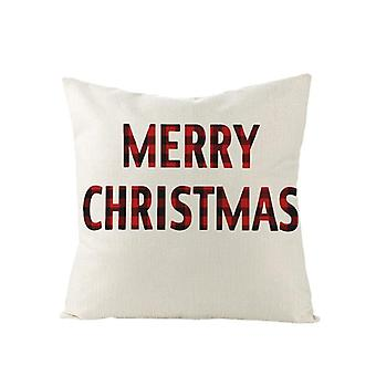 Christmas Cushion Cover 45*45 Pillowcase Sofa Pillow Home Decor