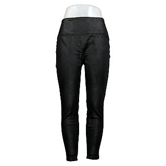 All Worthy Hunter McGrady Leggings The Ultimate Faux Leather Black A387465