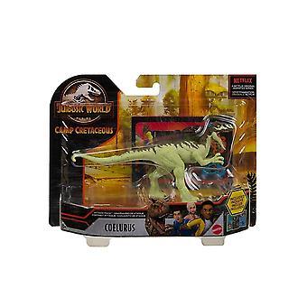 Jurassic World Attack Pack Coelurus Dinosaur Figure