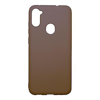 Ultra-Slim Case compatible with Samsung Galaxy A11 | In Brown |