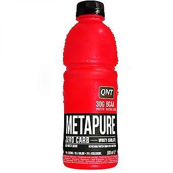 QNT Metapure Zero Carb tiszta tejsavó fehérje izom visszaszerzés Drink 24 X 500ml