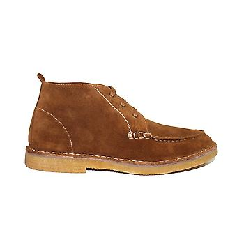 Loake Daniels Tan Suede Leather Mens Chukka Boots