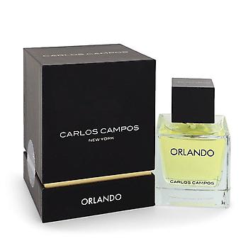 Orlando Carlos Campos Eau De Toilette Spray By Carlos Campos 3.3 oz Eau De Toilette Spray