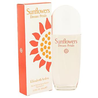 Zonnebloemen dromen bloemblaadjes Eau De Toilette Spray door Elizabeth Arden 3.3 oz Eau De Toilette Spray
