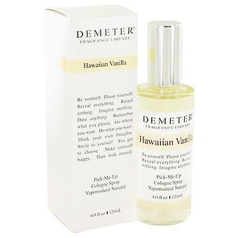 Demeter Hawaiian vanille Cologne Spray door Demeter 4 oz Cologne Spray
