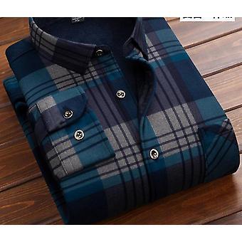 Fashion Warm Plaid Shirt met lange mouwen (set 1)