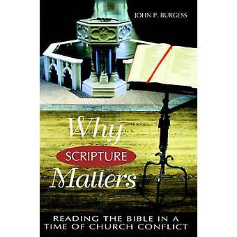 Perché le Scritture contano - Leggere la Bibbia in un tempo di conflitto della Chiesa