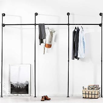pamo Kleiderstange Industrial Loft Design - Gaderobe fr begehbaren Kleiderschrank Wand I
