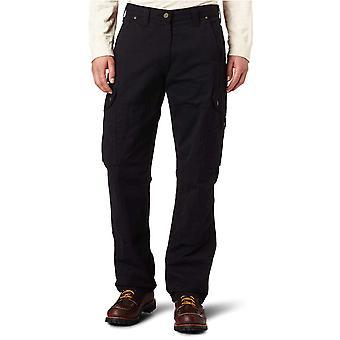 Carhartt Men's Ripstop Cargo Work Pant,Black,38W x 32L