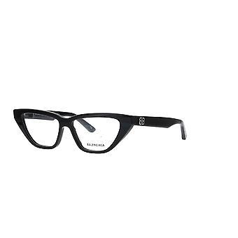 Balenciaga BB0128O 001 Black Glasses