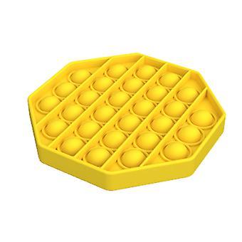 八角形の形大人の子供たちは自閉症の人々のためのバブルそわそわおもちゃをプッシュ