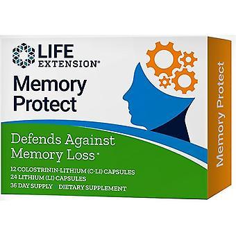 Memória de extensão de vida protege tampas 36