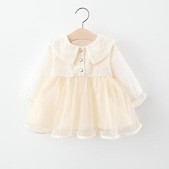 Spring Baby Clothes, Long Sleeve Dress, Party Princess Dress