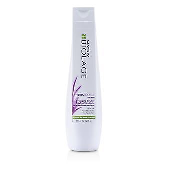 Matrix Biolage HydraSource desembaraçar a solução (para cabelos secos) 400ml/13,5 oz