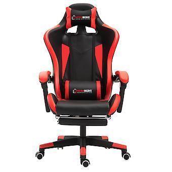 Ergonomiczne krzesło do gier - czerwone